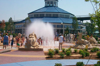 Sculptural Fountain in Chattanooga, Tennessee