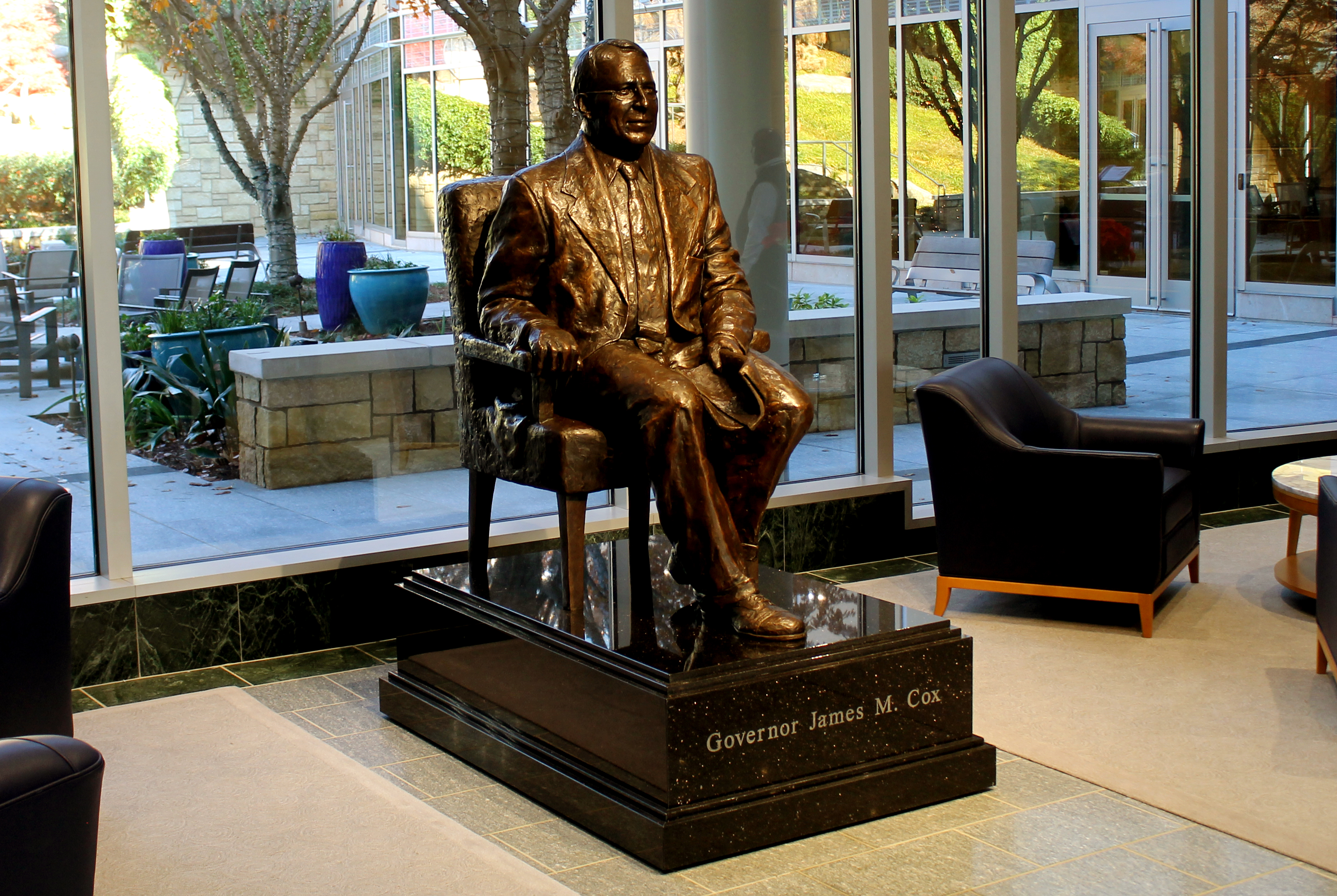 Governor James M. Cox - Bronze Sculpture in Atlanta, GA