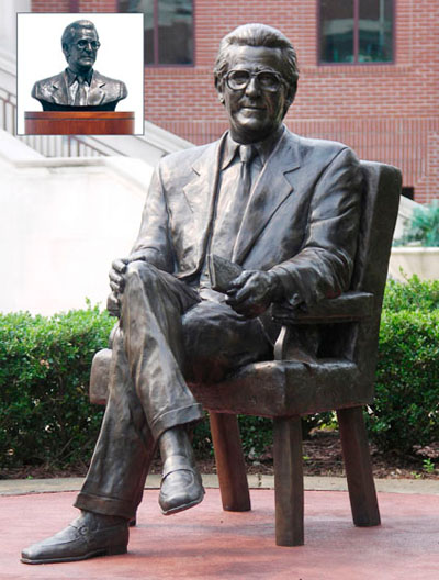 Michael C. Carlos Sculpture in College Park, GA