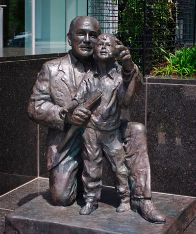 Life-Size Bronze Sculpture in Atlanta, Georgia