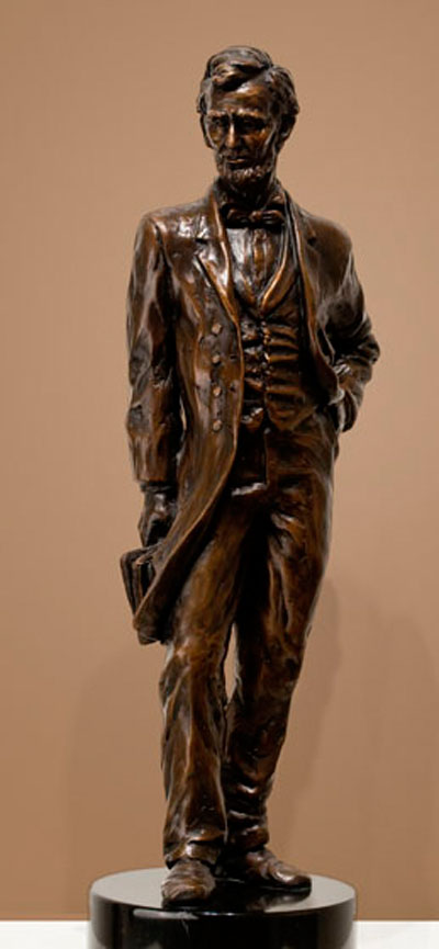 Bronze Sculpture of Abraham Lincoln in Atlanta, GA