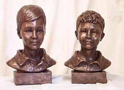 Bronze Sculptural Busts in Atlanta, GA