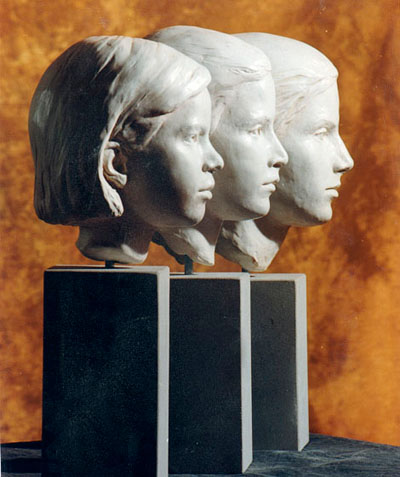 Clay Sculptures in Atlanta, Georgia