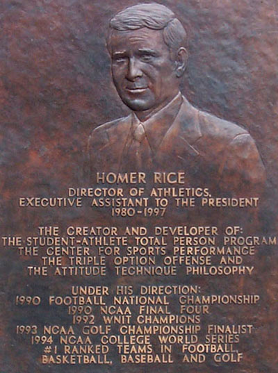 Homer Rice Bas Relief in Atlanta, GA