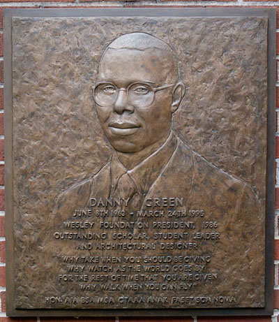 Danny Green Bas-Relief in Atlanta, GA