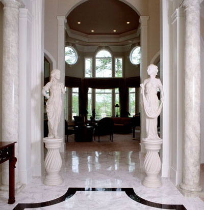 Marble Sculptures in Peachtree City, GA