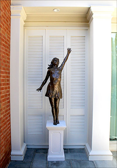 Life-Size Bronze Composite Sculpture in Private Residence