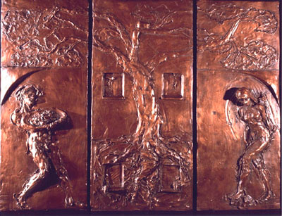 Copper Relief Sculpture in Charleston, SC