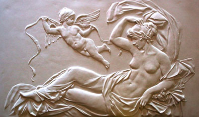Bas Relief Sculpture in Yorba Linda, California