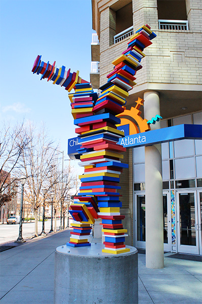 Custom Sculpture at Children's Museum of Atlanta, GA