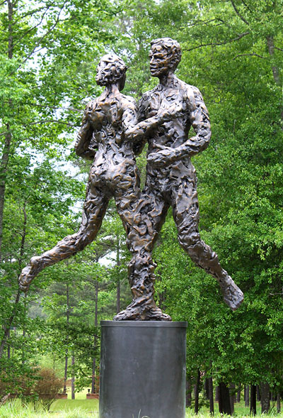 Bronze Sculpture in Chattahoochee Hills, GA